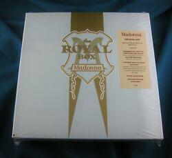 MADONNA SEALED THE ROYAL BOX SATIN CD BOX SET EDITION Promo Hype Sticker Punch $325.00