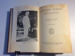 Mark Twain's Works Christian Science Author's National Edition 1907 Hardcover