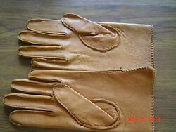 Vintage Leather Gloves women#x27;s Baron#x27;s Dept. Store $5.00