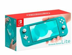 Nintendo Switch Lite Handheld Console 32GB  - Turquoise - New - In Stock Now! $262.00