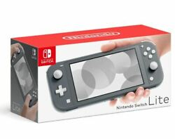 Nintendo Switch Lite Handheld Console 32GB  - Gray - Brand New - In Stock Now! $241.00