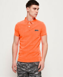 Superdry Mens Hyper Classic Pique Polo Shirt $18.57