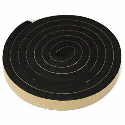 2M Self Adhesive Foam Seal Ring Tape Strip Draught Excluder EPDM Rubber $11.04