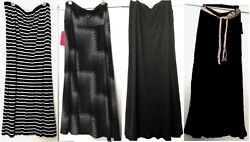Choice of Ladies Brand Names Maxi A-Line Skirts Size XL $24.95