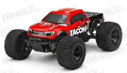 1 14 Tacon Valor Electric RC Monster Truck BRUSHLESS Ready to Run 2.4ghz Red $230.00