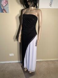 "Last Chance B Smart Size 7 8 Maxi Dress Length 48"" $5.00"