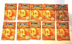 HotHands Hand Warmers 10 count  5 pack with 2 warmers per pack $8.95
