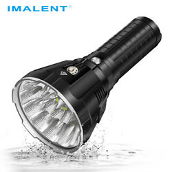 Imalent MS18 100000 Lumens Brightest Flashlight Camping Search Rechargeable LED $636.45