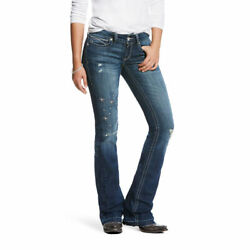 ARIAT WOMENS LOW RISE BOOT CUT SUNDANCE JEANS 10024292 $69.99