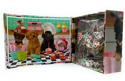 Pet Dogs Puppies Baking 500 PC JIGSAW PUZZLE With Keepsake Box Brand New $13.99