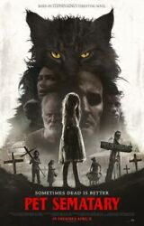PET SEMATARY 11x17 Movie Poster Licensed New USA A $9.98