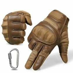 Tactical Shooting knuckle Finger Military Army Motorcycle Indestructible Gloves $35.99