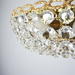 Palwa Bleikristallkronleuchter Chandelier Basket With Complete Glass 5.Z