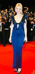 $7980 Chanel GWEN 08c Red Carpet Bow Maxi 38 40 4 6 8 Dress Top Long Gown M 2008