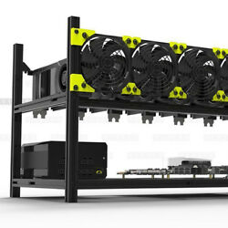 Stackable Veddha Miner Mining Open Air Rig Frame For Ethereum 8 GPU ZCash MWT $45.13