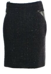$3.1k CHANEL 2013 Tweed Black 38 40 42 6 8 10 DRESS Jacket Top Shirt SKIRT 13p