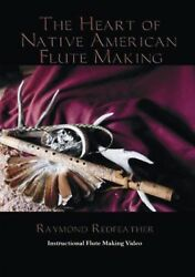 native american flute making DVD Raymond Redfeather $11.00