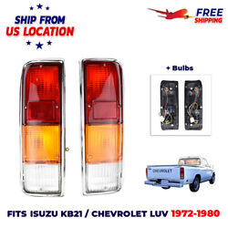 Pair Tail Light Lamp Fit For Isuzu KB21 Chevrolet LUV Pickup Truck 1972 1980 US $69.95