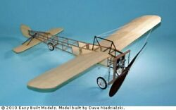 Bleriot XI #LC99 Easy Built Balsa Wood Model Airplane Kit Rubber Powered $35.99