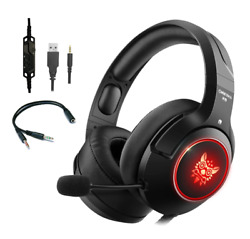 ONIKUMA K9 LED Gaming Headset with Mic for PS4 Laptop New Xbox One PC Mobile $24.99
