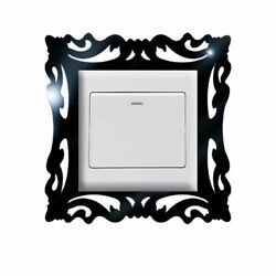 Switch Frame Stickers Panel Removable Colorful Mirror Poster Wall Decorations $5.41