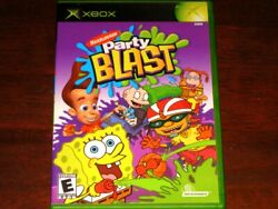 Nickelodeon Party Blast Original XBOX Classic Party Game Complete 2002 $10.36