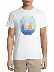 NICKELODEON SPONGEBOB FISH BOWL SHIRT SIZE S M L XL 2X 3X NEW $15.37