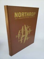 Northrop An Aeronautical History Airplane Vintage Photo History Aircraft Plane $24.99