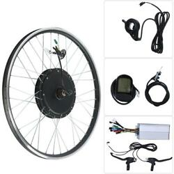 Mountain Bike Bicycle Conversion Electric Kit 48V 1000W 700#x27;#x27; LCD Instrument New $441.24