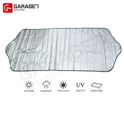 Front Rear Sun Shade Cover Snow Ice Windshield Car Window Foldable Outside US $6.81
