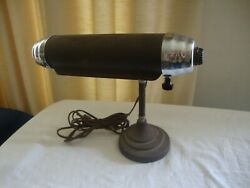 Vintage Antique Organ Piano Lamp Adjustable Arms Bankers Desk Lamp WORKING $15.00