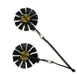 Latest Gpu Cooler Fan For Gtx 1060 1070 Dual Video Graphics Card Cooling Two Set $26.32