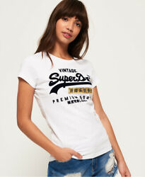 Superdry Womens Premium Goods Sport T Shirt $13.87