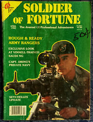 Magazine SOLDIER OF FORTUNE April 1982 MIL MI 24 HIND A Large HELICOPTER $14.98