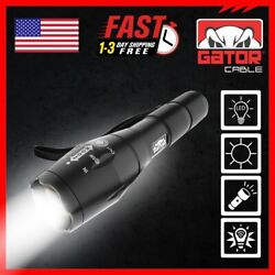 Super Bright LED Flashlight Torch Lamp Tactical Military 5 Modes Zoom 10000 Lux $8.99