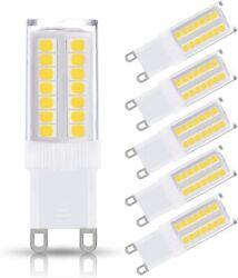 KINDEEP NOT Dimmable G9 LED Bulb 40W Equivalent Ceiling Light Desk Lamp (5Pack) $10.99