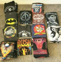 Big amp; tall cotton blend t shirt NWT Vintage Tee Marvel DC Superman Band Movie $19.99