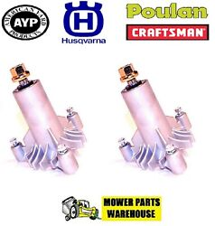 2 REPL BLADE SPINDLE W BOLTS AYP SEARS HUSQVARNA 532130794 130794 128285 137641 $35.10