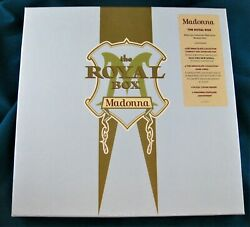 MADONNA THE ROYAL BOX GERMAN BOX SET CD BIGGER BOX Rare Promo Hype Sticker $285.00