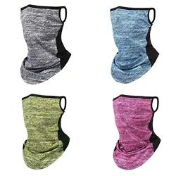 CW Summer Outdoor Cycling Hanging Ear Scarf Face Cover Neck Gaiter Tube Scarf $7.32