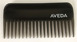 Aveda Detangling Comb Black Wide Tooth Logo NEW  FREE SHIPPING 6.25 Inch  $21.99