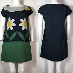 Rare Vtg Moschino Cheap amp; Chic Daisy Print Dress M $218.00