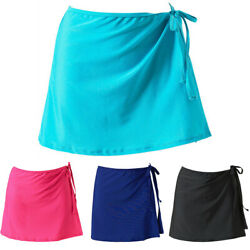 US Women Swimwear Bikini Cover Up Sarong Dress Mini Wrap Skirt Beach $8.11