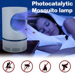 Electric Mosquito Killer LED Light Lamp IndoorOutdoor Pest Trap Insect Zappers $13.59