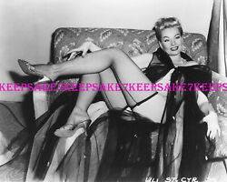 FAMOUS EXOTIC STRIPTEASE DANCER LILI ST.CYR LEGGY 8 X 10 LEGS PHOTO S-LSC1 $6.75