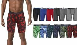 4 Pack Men's Russel Poly Performance Dri-Fit Stretch Boxer Brief Assorted Colors $14.99