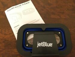 Jet Blue Foldable Silicone VR Headset New $19.99