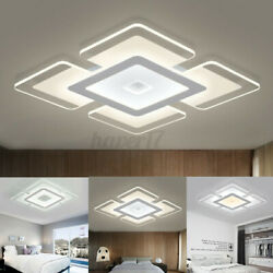 Modern LED Ceiling Light Square Acrylic Home Lamp Fixture Living Room Bedroom US $20.89