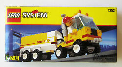 Lego Vintage Town Shell Tanker Set 1252 Brand New in unopened package $9.99