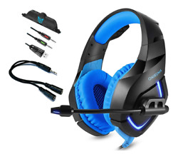 ONIKUMA K1 Stereo LED Gaming Headset for PS4 New Xbox One PC Laptop with Mic $24.99